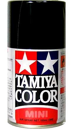 ラバーブラック (つや消し) (TS-82)スプレー塗料(タミヤタミヤカラー スプレーNo.TS-082)商品画像