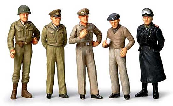WW2 ジェネラルセットプラモデル(タミヤ1/48 ミリタリーミニチュアシリーズNo.057)商品画像_1
