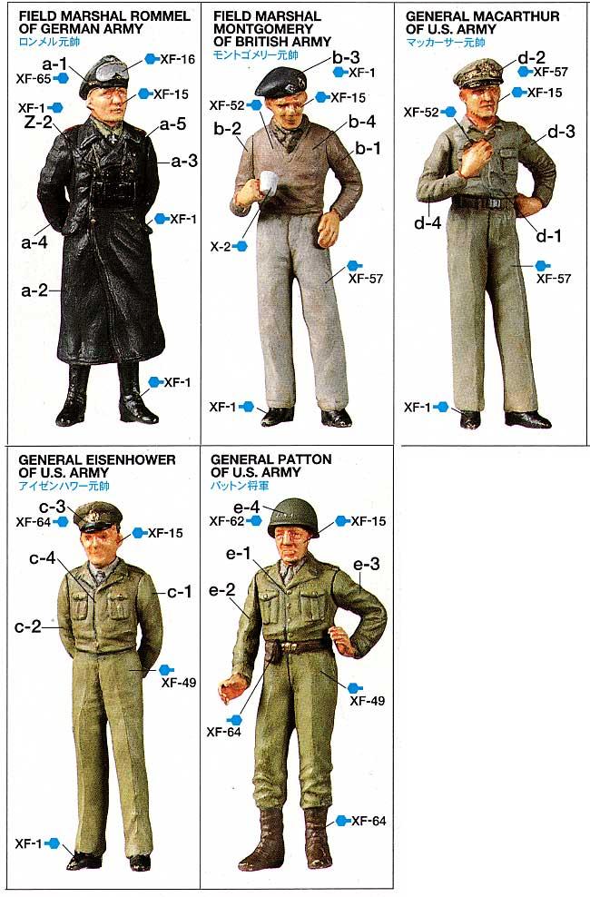 WW2 ジェネラルセットプラモデル(タミヤ1/48 ミリタリーミニチュアシリーズNo.057)商品画像_2
