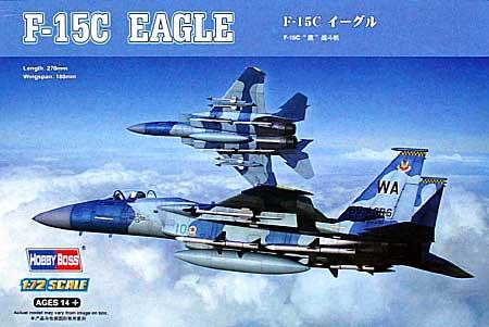 F-15C イーグルプラモデル(ホビーボス1/72 エアクラフト プラモデルNo.80270)商品画像
