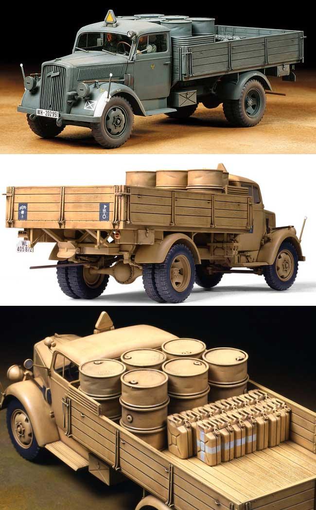 ドイツ 3トン 4×2 カーゴトラックプラモデル(タミヤ1/35 ミリタリーミニチュアシリーズNo.291)商品画像_2
