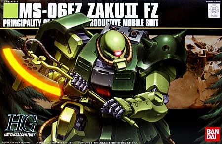 MS-06FZ ザク 2 改プラモデル(バンダイHGUC (ハイグレードユニバーサルセンチュリー)No.087)商品画像
