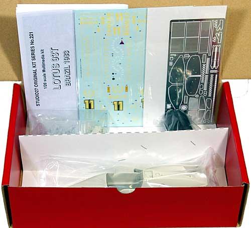 ロータス 93T ルノー ブラジルGPレジン(スタジオ27F-1 オリジナルキット (スタンダードシリーズ)No.FK20221C)商品画像