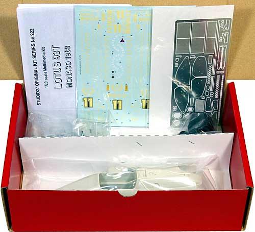 ロータス 93T ルノー モナコGPレジン(スタジオ27F-1 オリジナルキット (スタンダードシリーズ)No.FK20222C)商品画像