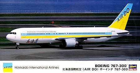 北海道国際航空 (AIR DO) ボーイング 767-300プラモデル(ハセガワ1/200 飛行機シリーズNo.012)商品画像