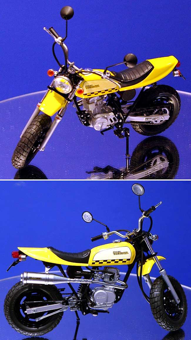エイプ 50 タケガワ仕様プラモデル(アオシマ1/12 ネイキッドバイクNo.旧059)商品画像_3