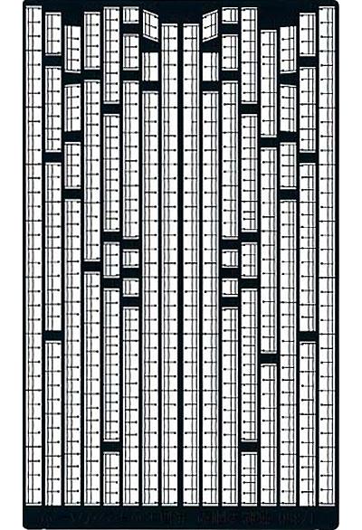 戦艦 金剛型共通 手摺 & 艦上構造物 エッチングパーツエッチング(アオシマ1/350 アイアンクラッド ディテールアップパーツNo.0042939)商品画像
