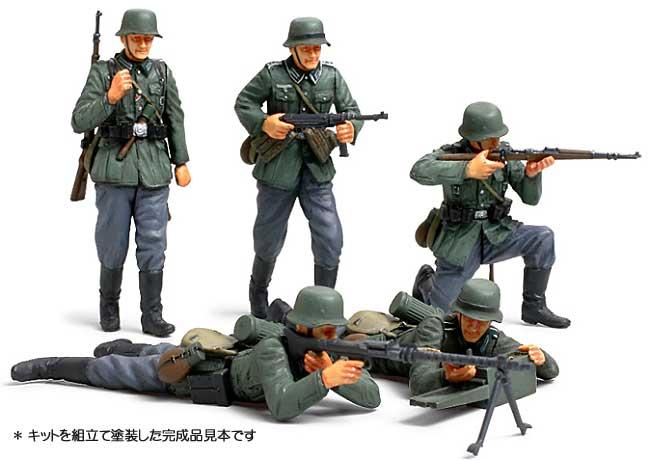 ドイツ歩兵セット (フランス戦線)プラモデル(タミヤ1/35 ミリタリーミニチュアシリーズNo.293)商品画像_3