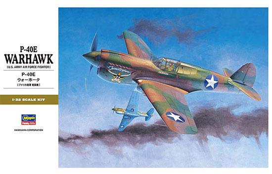P-40E ウォーホークプラモデル(ハセガワ1/32 飛行機 StシリーズNo.ST029)商品画像