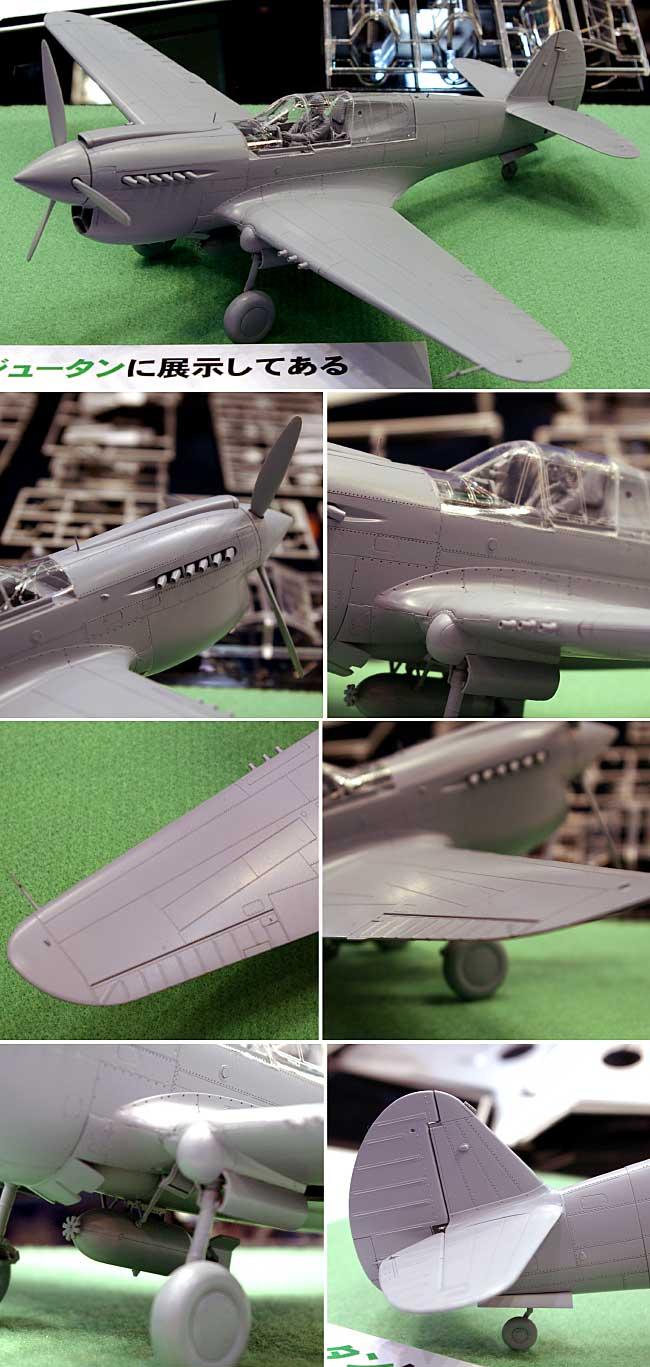 P-40E ウォーホークプラモデル(ハセガワ1/32 飛行機 StシリーズNo.ST029)商品画像_2