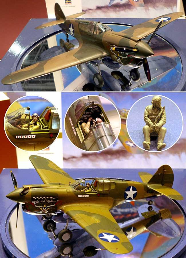 P-40E ウォーホークプラモデル(ハセガワ1/32 飛行機 StシリーズNo.ST029)商品画像_3