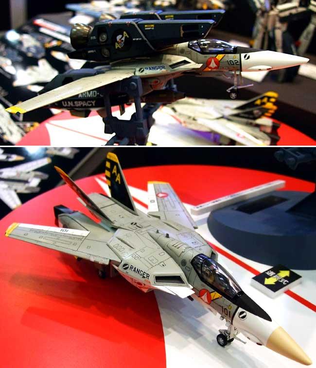 VF-1J スーパー/ストライク バルキリー SVF-41 ブラックエイセス (限定生産版)プラモデル(ハセガワ1/72 マクロスシリーズNo.65782)商品画像_2