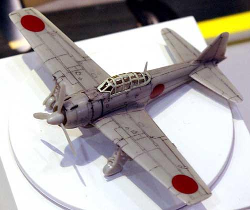 二號零戦 報国號 (零戦32型)プラモデル(SWEET1/144スケールキットNo.021)商品画像_2