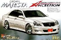 アオシマ1/24 スーパー VIP カーアンクエルション 18 マジェスタ `06 後期型