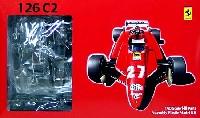 フジミ1/20 GPシリーズ SP (スポット)フェラーリ 126C2 1982 サンマリノ (スケルトンボディ仕様)