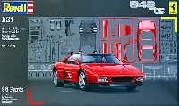 レベルカーモデルフェラーリ 348ts