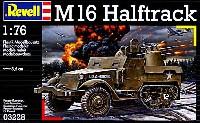 レベル1/76 ミリタリーM16 ハーフトラック