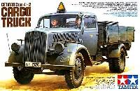 タミヤ1/35 ミリタリーミニチュアシリーズドイツ 3トン 4×2 カーゴトラック