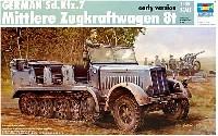 ドイツ軍 Sd.Kfz.7 8tハーフトラック 初期型