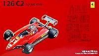 フジミ1/20 GPシリーズ SP (スポット)フェラーリ 126C2 サンマリノGP (カルトグラフデカール付)
