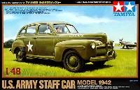 タミヤ1/48 ミリタリーミニチュアシリーズアメリカ陸軍 1942年型 スタッフカー
