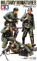 タミヤ1/35 ミリタリーミニチュアシリーズドイツ歩兵セット (フランス戦線)