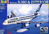 レベル1/144 旅客機エアバス A380 & インテリア