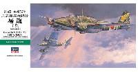 ハセガワ1/48 飛行機 JTシリーズ川崎 キ45改 二式複座戦闘機 屠龍 丁型