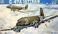 トランペッター1/48 エアクラフト プラモデルC-47A スカイトレイン