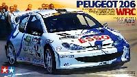 タミヤ1/24 スポーツカーシリーズプジョー 206 WRC