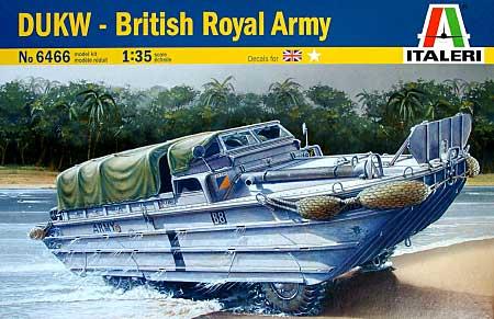 DUKW イギリス陸軍プラモデル(イタレリ1/35 ミリタリーシリーズNo.6466)商品画像