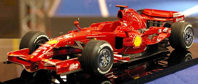 フェラーリ F2008レジン(スタジオ27F-1 オリジナルキット (スタンダードシリーズ)No.FR2027)商品画像_3