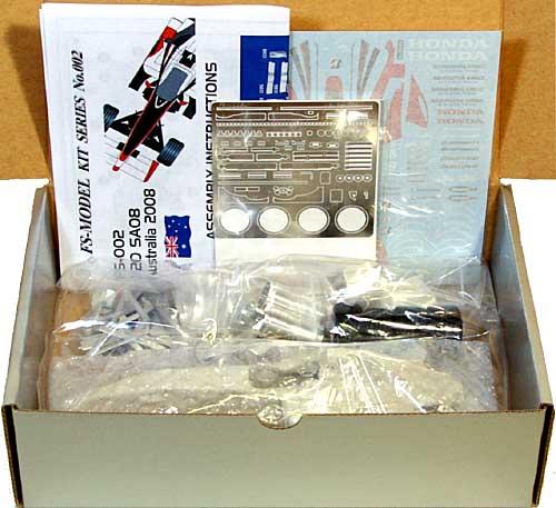 スーパーアグリ SA08 オーストラリアGP 2008レジン(FS-MODEL1/20 スタンダード レジンキットNo.FS002)商品画像