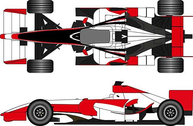 スーパーアグリ SA08 オーストラリアGP 2008レジン(FS-MODEL1/20 スタンダード レジンキットNo.FS002)商品画像_1