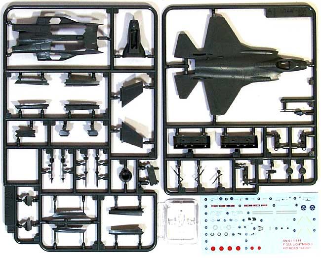 ロッキードマーチン F-35A ライトニング 2 (統合戦闘機 プロトタイプ1号機 AA-1)プラモデル(ピットロードSN 航空機 プラモデルNo.SN001)商品画像_1