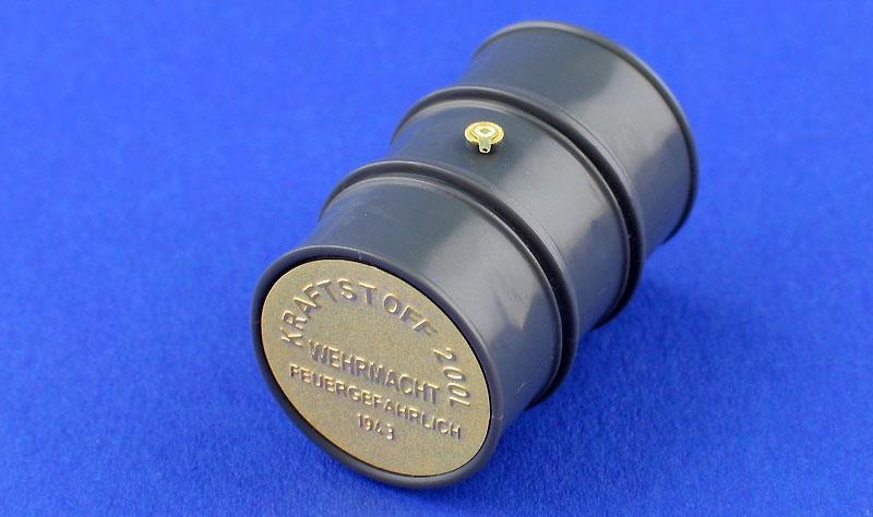 ドイツ 200リットル ドラム缶 ディテールセットエッチング(アベール1/35 AFV用エッチングパーツNo.35A114)商品画像_3