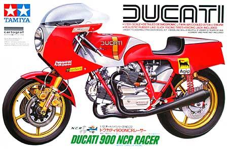 ドウカティ 900 NCR レーサープラモデル(タミヤ1/12 オートバイシリーズNo.022)商品画像
