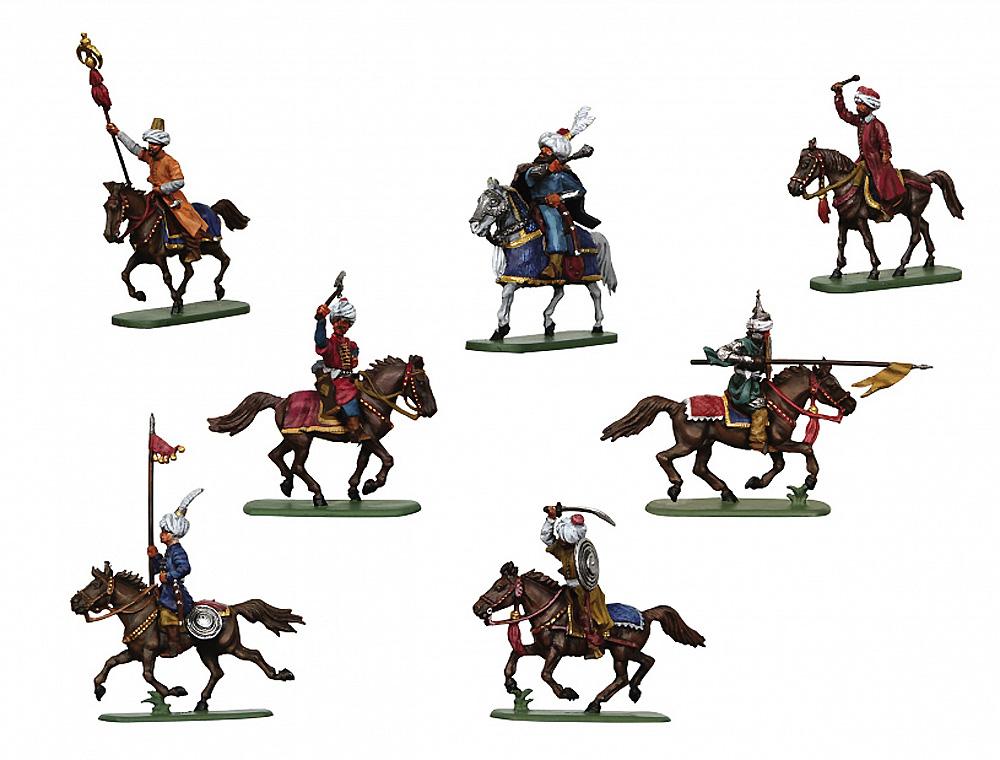 トルコ騎兵 16-17世紀プラモデル(ズベズダ1/72 ヒストリカルフィギュアNo.8054)商品画像_2