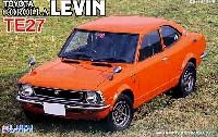 フジミ1/24 インチアップシリーズ (スポット)トヨタ カローラ レビン (TE27) 実車パッケージ