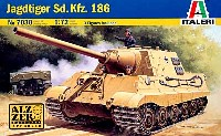 イタレリ1/72 ミリタリーシリーズSd.Kfz.186 ヤクトタイガー