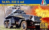 イタレリ1/72 ミリタリーシリーズSd.Kfz.232 6輪装甲車