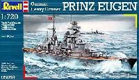レベル1/720 艦船モデルドイツ海軍 重巡洋艦 プリンツ・オイゲン