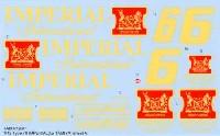タブデザイン1/12 デカールロータス 78 IMPERIALデカール