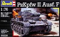レベル1/76 ミリタリー2号戦車 F型 (PzKpfw 2 Ausf.F)