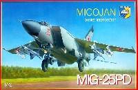 コンドル1/72 航空機モデルミグ MiG-25PD フォックスバッド戦術偵察機