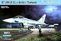 ホビーボス1/72 エアクラフト プラモデルユーロファイター EF-2000A タイフーン