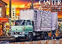フジミ1/32 トラック シリーズ三菱ふそう キャンター T200系 昭和50年式 アルミパネル仕様