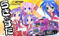 アオシマ痛車シリーズらき☆すた 痛ダンプ (日野プロフィア ダンプ)