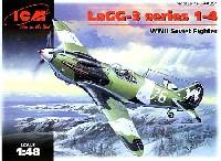 ICM1/48 エアクラフト プラモデルソビエト空軍 ラボーチキン LaGC-3 1-4 戦闘機