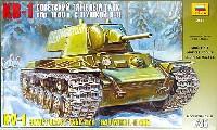 ズベズダ1/35 ミリタリーKV-1重戦車 1940年型 w/L-11 GUN